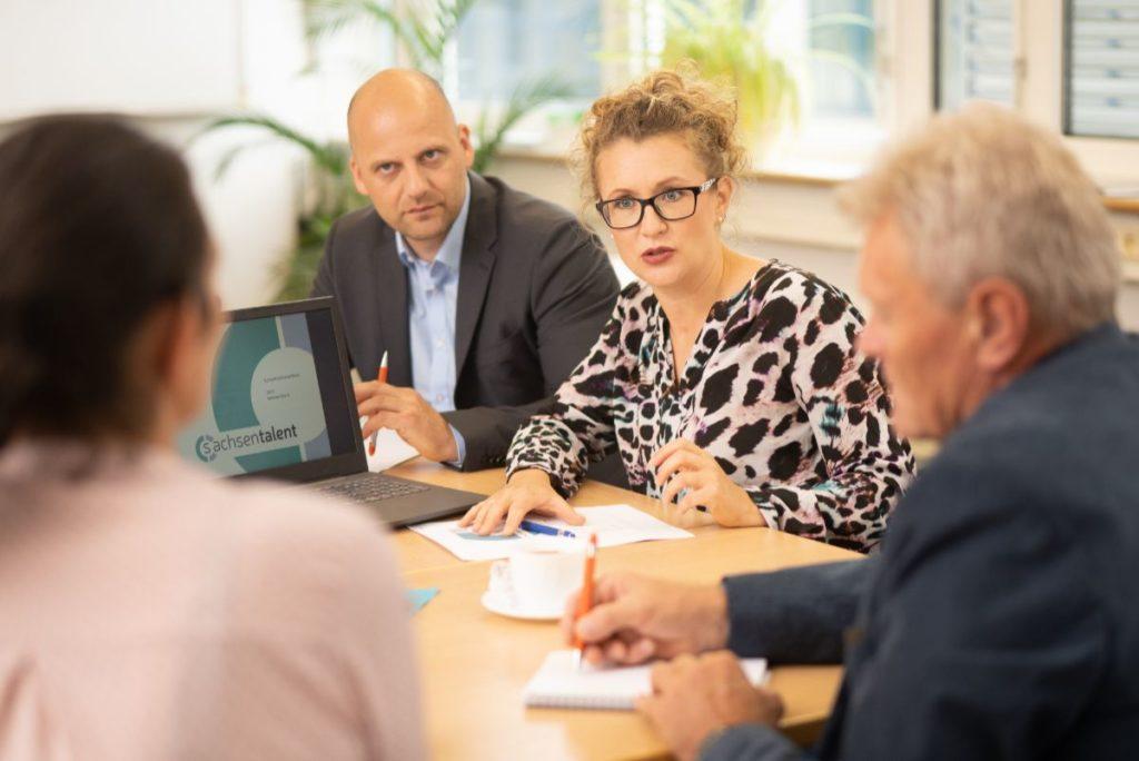 Personalberater Dr. Christian Genz und Katarina Genz | Personalberatung Sachsentalent